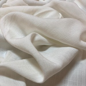 Viscose com Lycra Off White